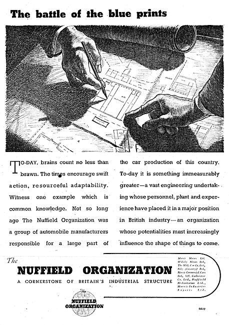 Nuffield Organization Aeronautical Engineering & Manufacturing