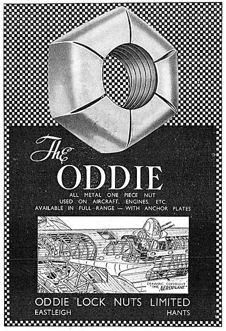 Oddie Self-Locking Fasteners Oddie Nuts