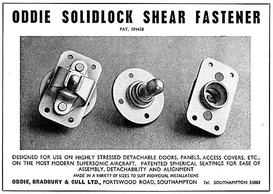 Oddie Solidlock Shear Fasteners