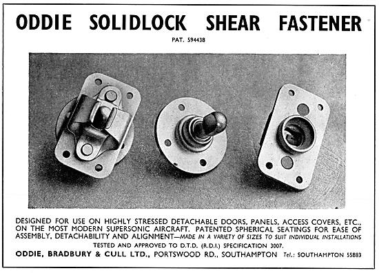 Oddie Solidlock Self-Locking Fasteners