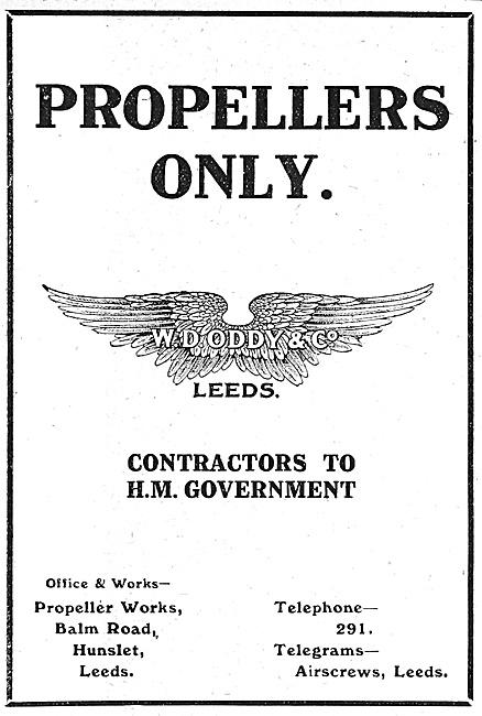 Oddy Propellers 1916