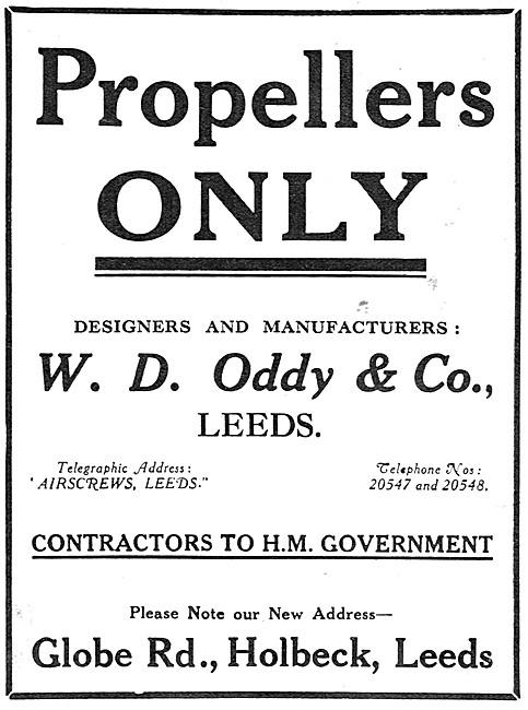 Oddy Propellers 1919