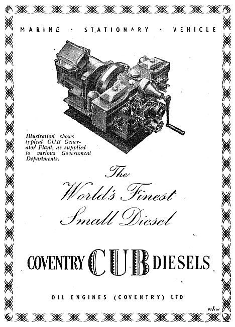 Coventry Cub Diesels