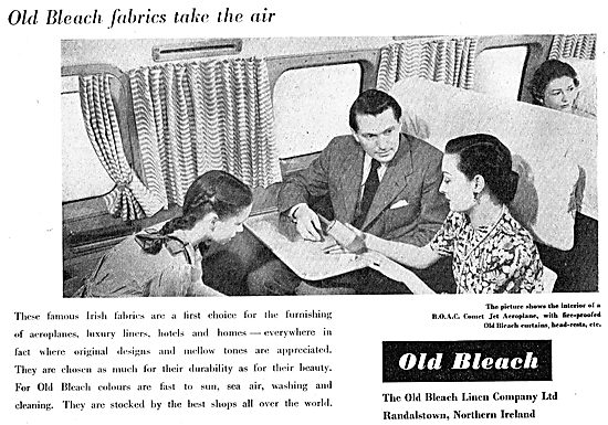 The Old Bleach Linen Co. Randalstown: Aircraft Furnishing Fabrics