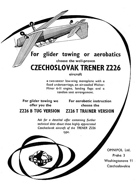 Omnipol Zlin Trener Z226