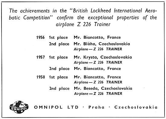 Omnipol Z226 Trainer Zlin