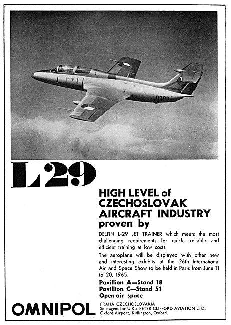 Omnipol Czechoslovak Aircraft L-29
