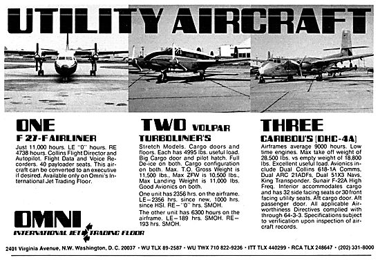 Omni Jet Trading Floor - F27-F   Volpar Turboliner