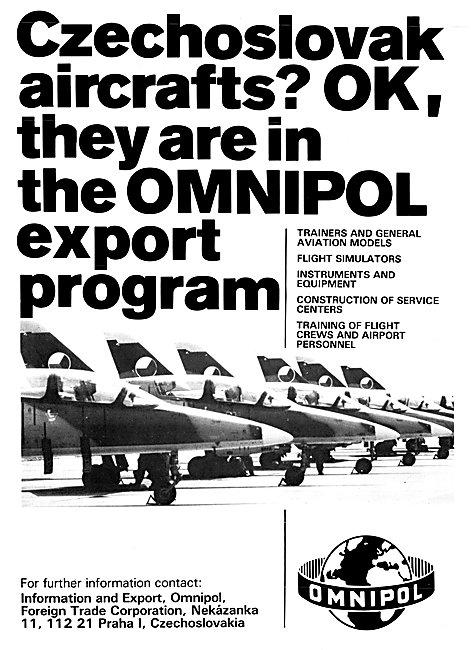 Omnipol Czechoslovak Aircraft 1983
