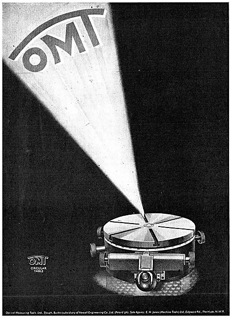 Optical Measuring Tools. Circular Table 1943