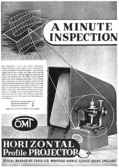 Optical Measuring Tools. Horizontal Profile Projector