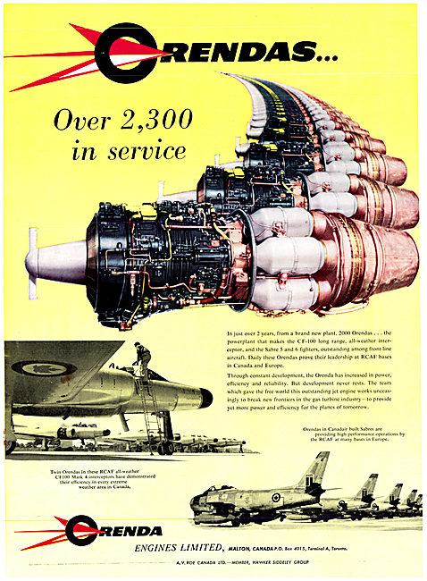Avro Canada - Orenda Engines