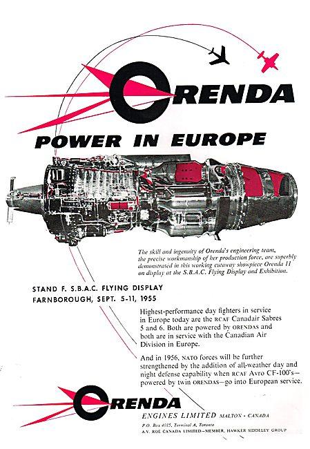 Orenda Engines 1955