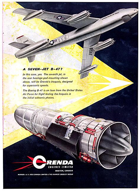 Orenda Engines Iroquois