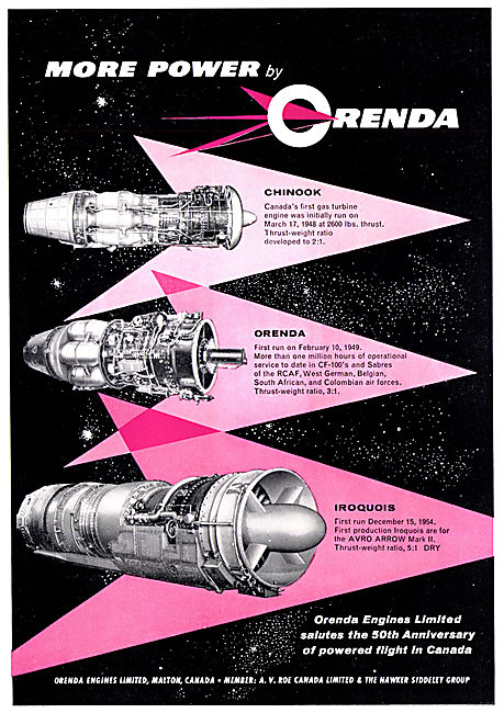 Orenda Engines - Chinook - Iroquois