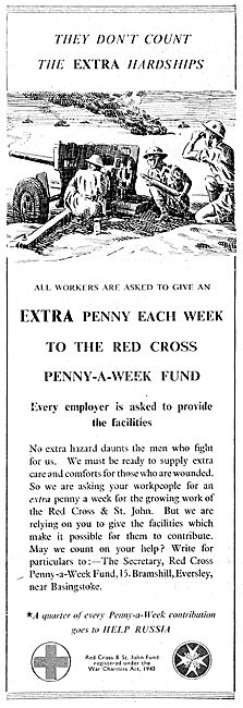 The Red Cross Penny A Week Fund. 1943.