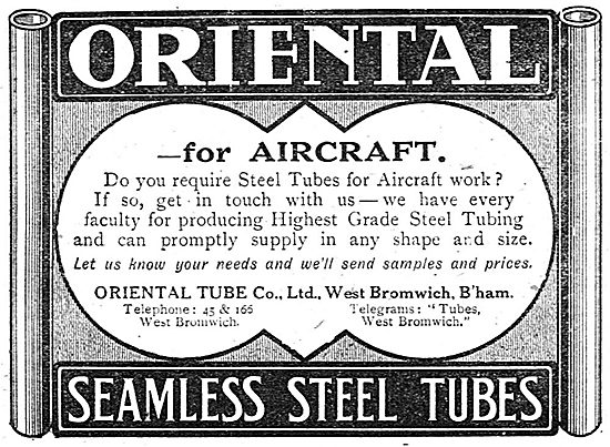 The Oriental Tube Co - Stainless Steel Tubes