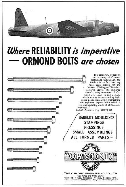 Ormond Engineering - Mouldings,Stampings & Pressings