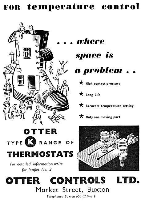 Otter Controls. K Range Thermostats