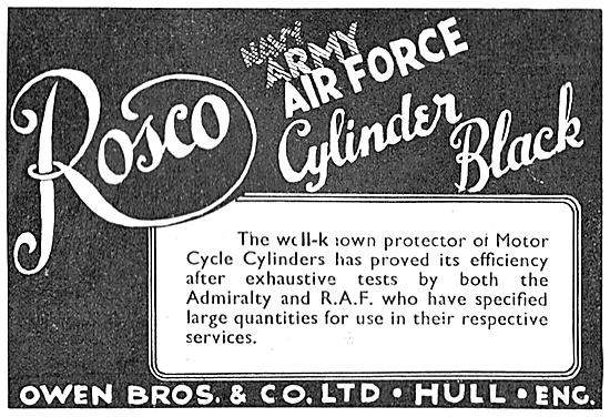 Owen Brothers Rosco Cylinder Black