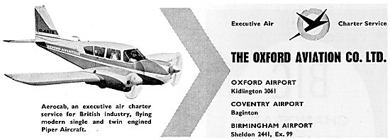 Oxford Aviation Air Charter Service