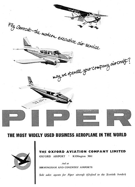 Oxford Aviation - Piper Business & Leisure Aircraft