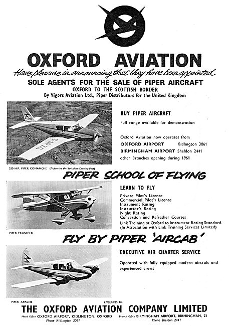 Oxford Aviation For Piper Aircraft