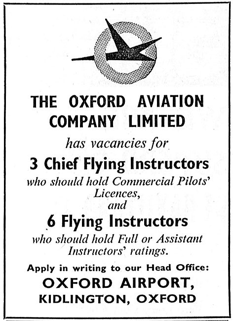 Oxford Aviation - Commercial Flying Instructors