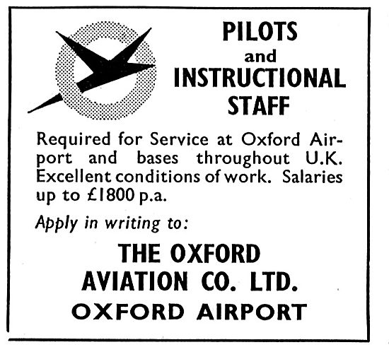 Oxford Aviation - Pilots & Instructional Staff