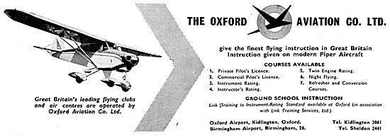 Oxford Aviation - PPL Training At Oxford & Birmingham