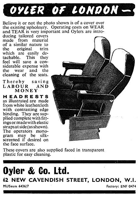 Oyler & Co Aircraft Seating Fabrics