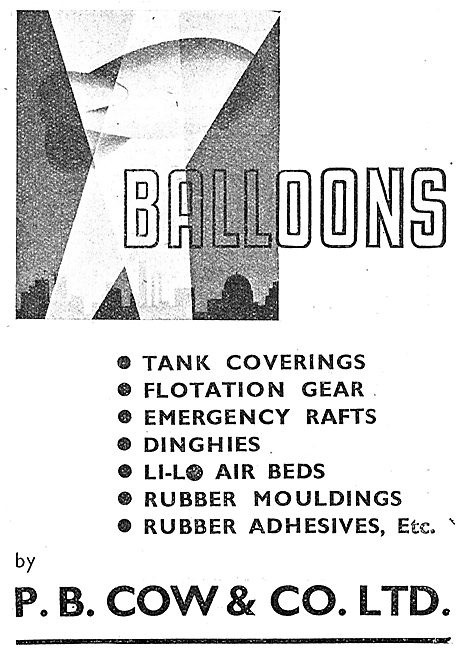 P.B.Cow : Barrage Balloons