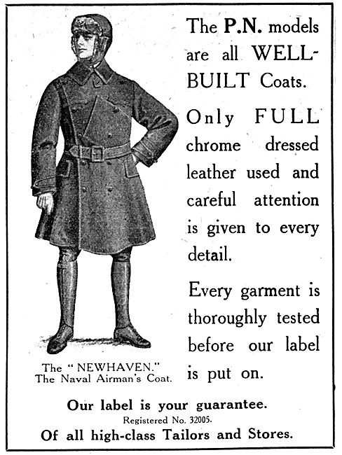P.N.Stanley. P.N. Newhaven Airmans Coat