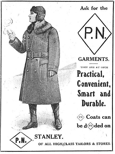 P.N.Stanley. P.N. Leather Flying Coats