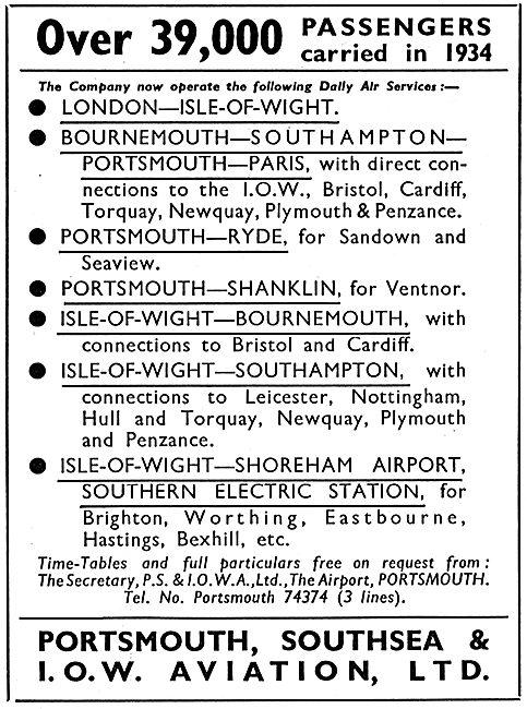P.S.& I.O.W.A. Ltd - London Isle Of Wight