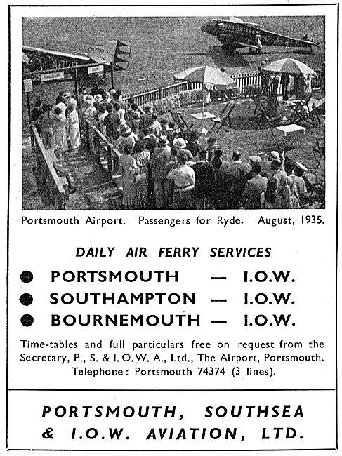 P.S.& I.O.W.A. Ltd - The Island Air Express