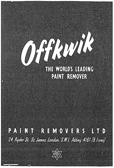 Offkwik Paint Remover For Airframes & Surfaces