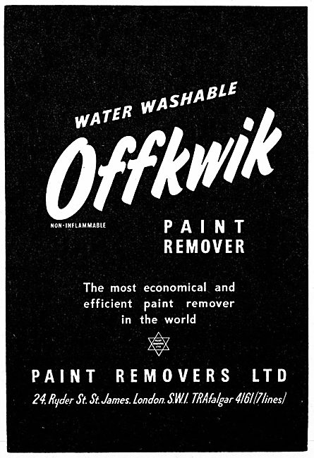 Paint Removers Ltd : Offkwik Paint Remover