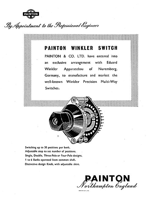 Painton Winkler Precision Multi-Way Switches