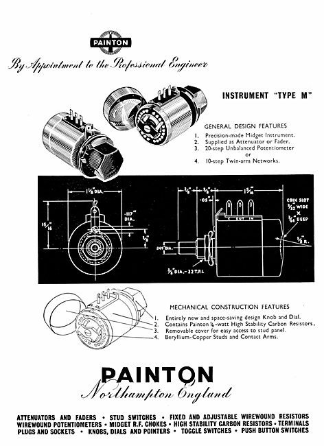 Painton Electrical And Electronic Components & Accessories