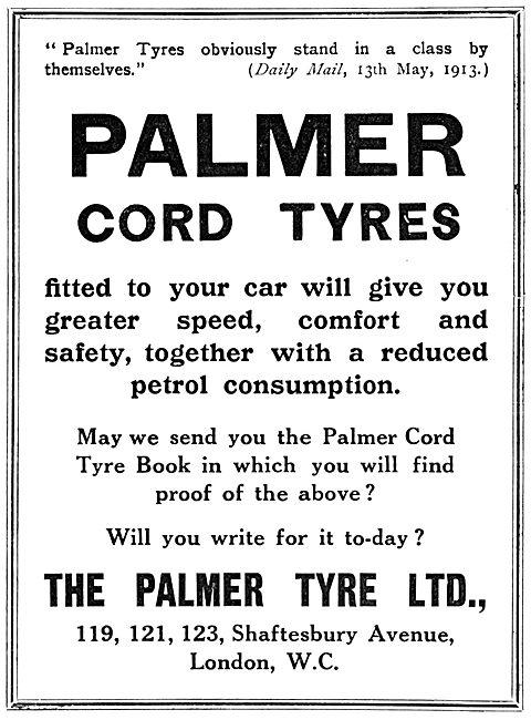 Palmer Cord Tyres