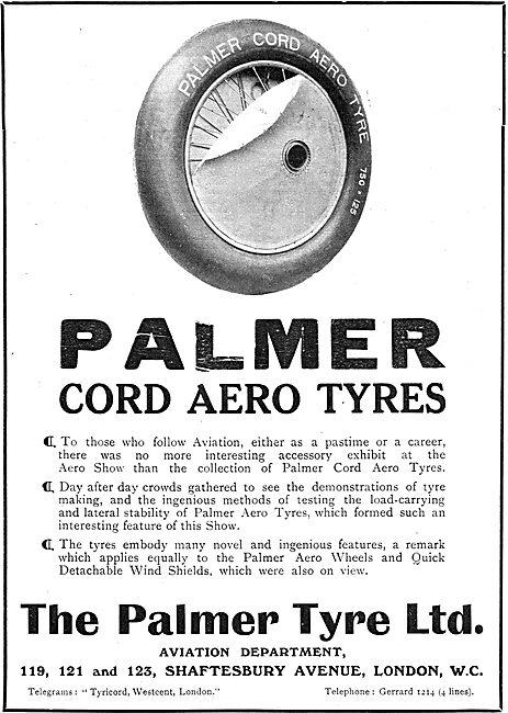 Palmer Cord Aero Tyres
