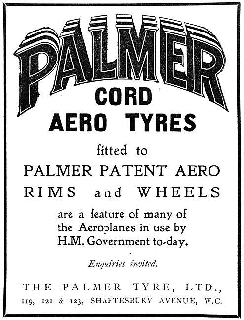 Palmer Cord Aero Tyres, Rims & Wheels