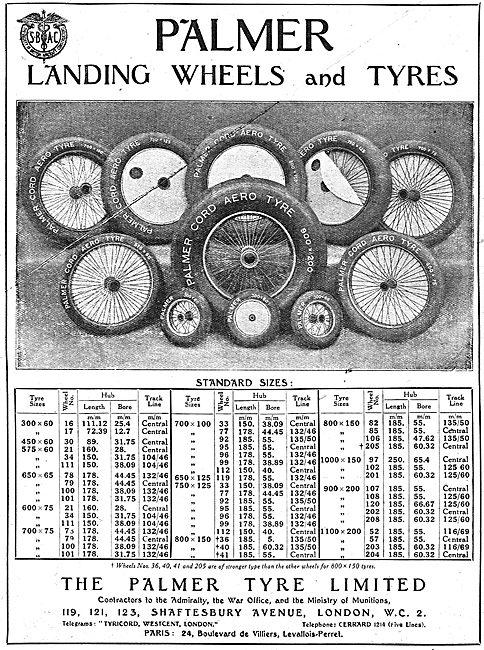 Palmer Aircraft Tyres & Landing Wheels
