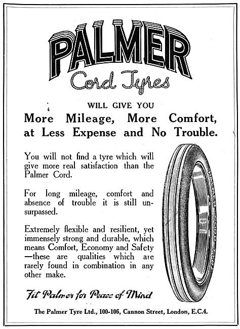 Palmer Tyres - Palmer Cord Tyres