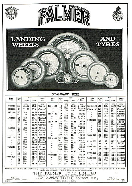 Palmer Wheels & Tyres - Stock List