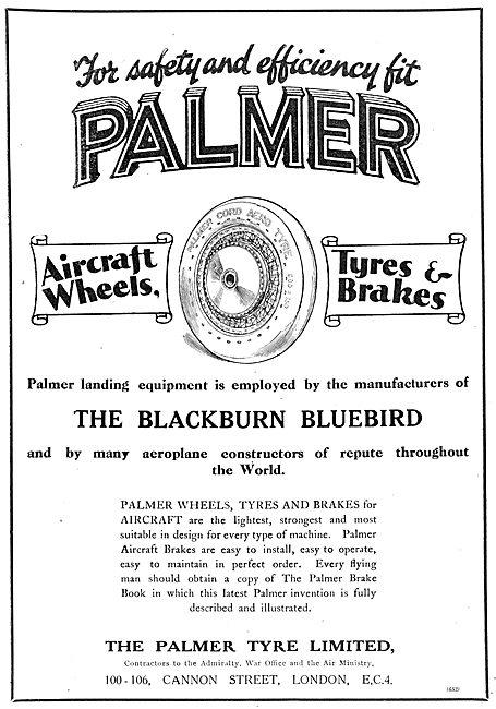 Palmer Aircraft Wheels, Tyres & Brakes