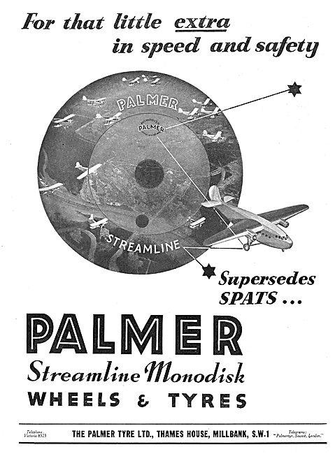 Palmer Streamline Monodisk Aeroplane Wheels & Tyres