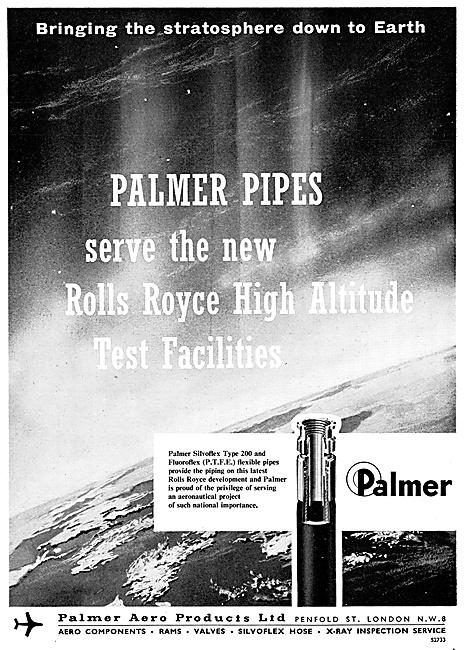 Palmer Pipes, Hoses,Escape Slides,Pneumatic Actuators, X-Ray NDT