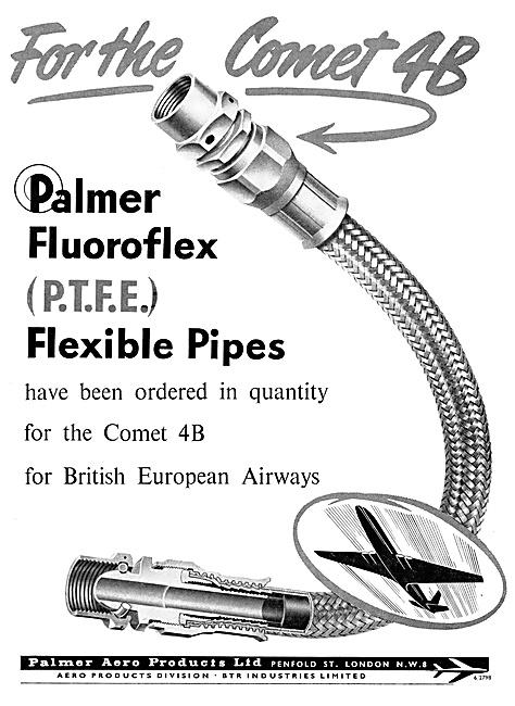 Palmer Aero Products - Fluoroflex (P.T.F.E) Flexible Pipes